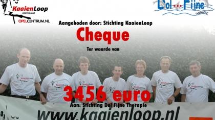 KaaienLoop cheque 2007.