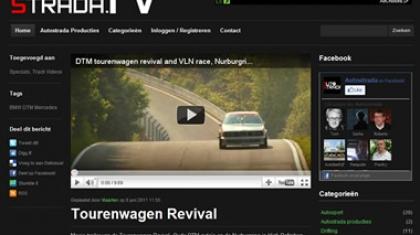 Screenshot van www.autostrada.tv.