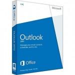 Kan e-mail niet verwijderen uit Outlook Postvak UIT.