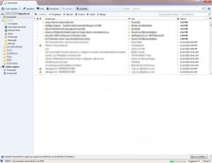 Mozilla Thunderbird e-mailprogramma.