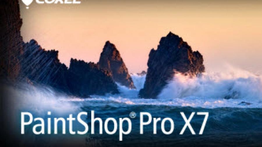 Paint Shop Pro X7.