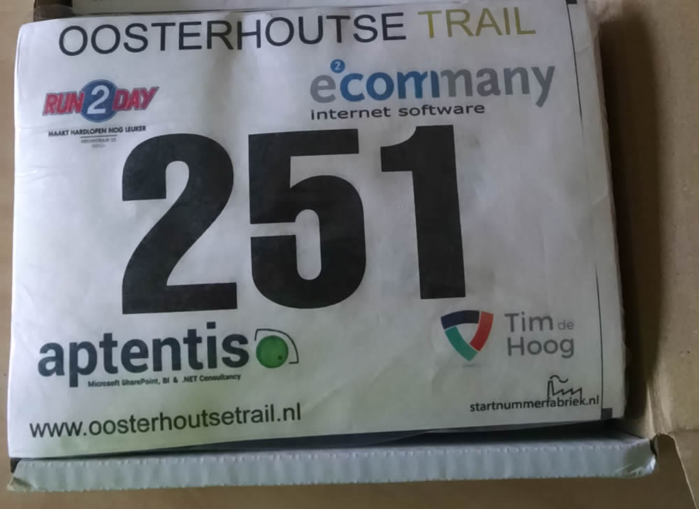 Oosterhoutse Trail startnummers 2015