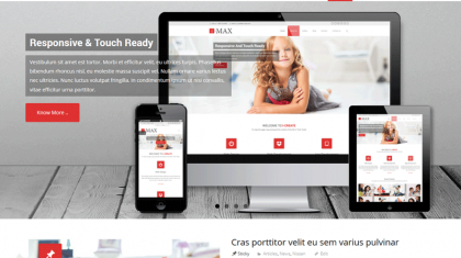 WordPress thema I-max.