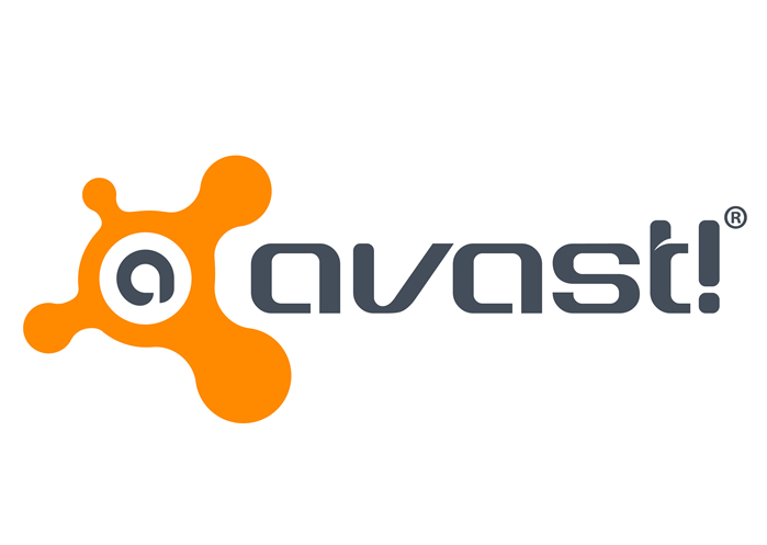 Logo van Avast.