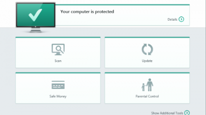 Kaspersky Internet Security 2015.