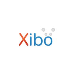 Logo van Xibo.