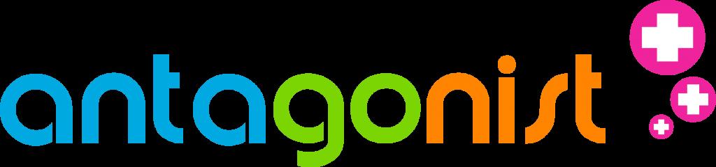 Logo van hostingpartij Antagonist.