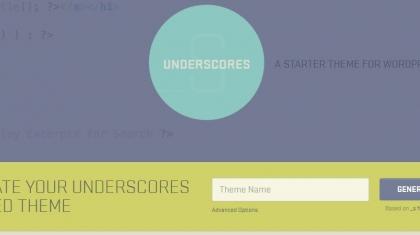 Screenshot van Underscores.me