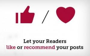 I Recommend This WordPress plug-in Nederlandse vertaling.