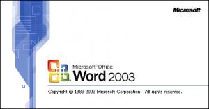 Outlook 2003 gebruikt Word voor het typen van e-mails.
