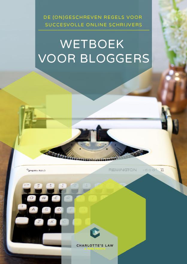 Wetboek voor Bloggers.
