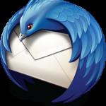 Mozilla Thunderbird logo.