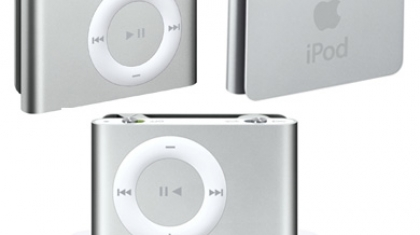 Apple iPod Shuffle second generation.