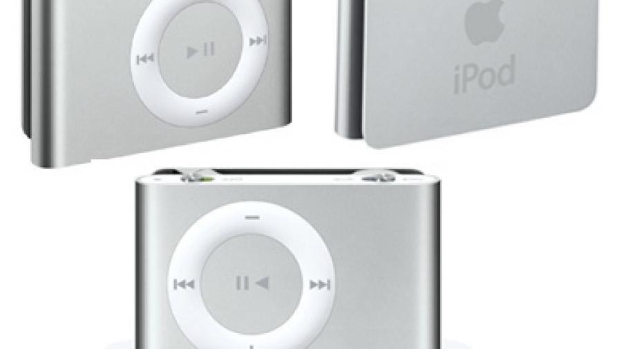 Apple iPod Shuffle second generation.