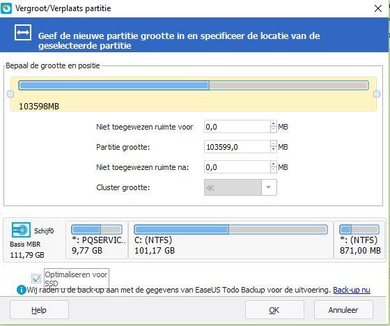 Partitie Wijzigen Windows 7.Partitie Uitbreiden Met Niet Toegewezen Ruimte Lukt Niet