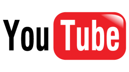 Logo van YouTube.