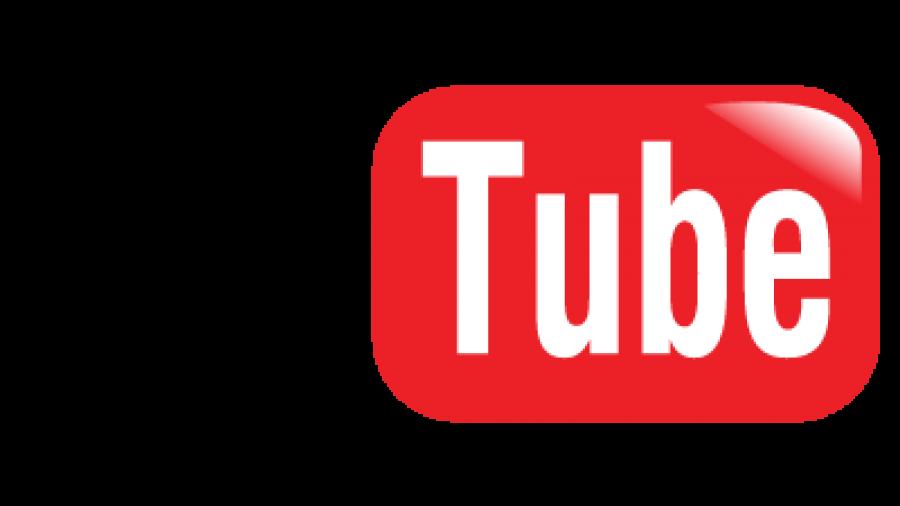 Logo van YouTube.