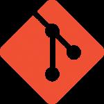 Logo van versiebeheersysteem GIT.