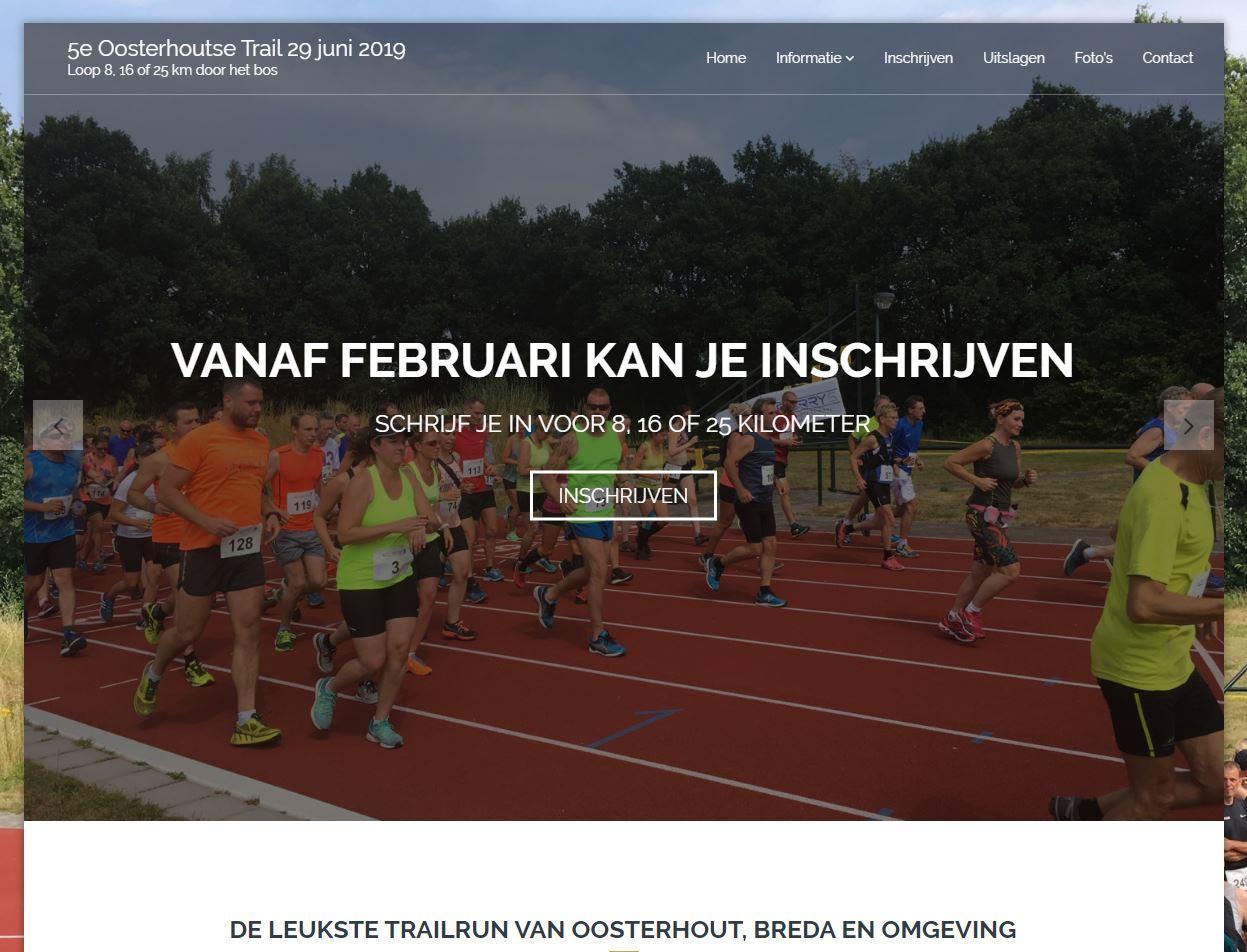 Voorpagina Oosterhoustetrail.nl