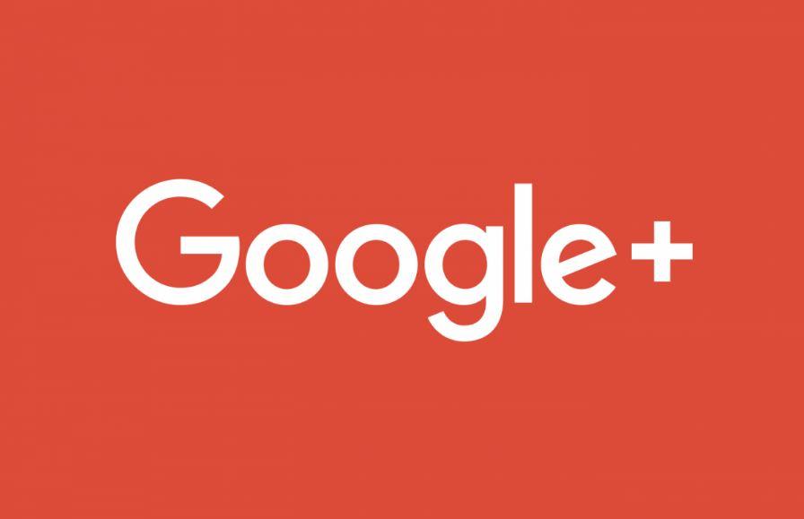 Logo van social network Google+