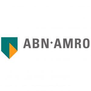 Logo van ABN AMRO.