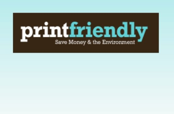 Logo van Printfriendly.com.