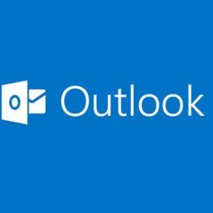 Outlook kan geen toestemming van Gmail account krijgen.