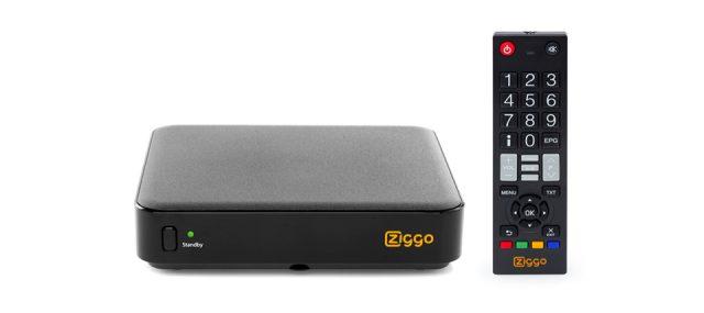 Ziggo kastje dat digitaal signaal omzet naar analoog signaal.