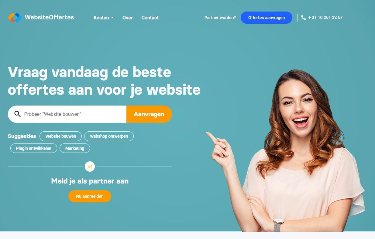 Wat zijn de kosten om een website of webshop te laten maken.