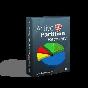 Bestanden terughalen met Active@ Partition Recovery.